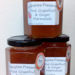 Award winning Pink Grapefruit & Ginger Marmalade